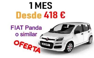 Nueva oferta 1 mes desde 418 €