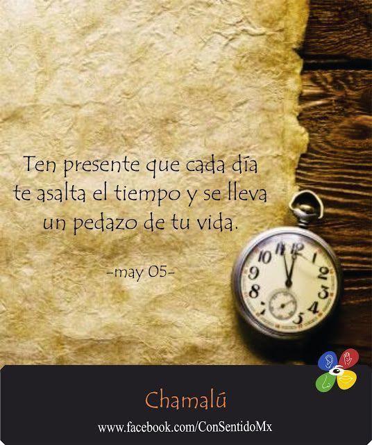 En cada minuto gastamos tiempo de vida