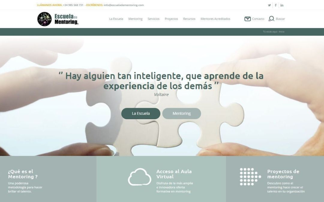 El periódico ABC nos referencia como pioneros del mentoring en España