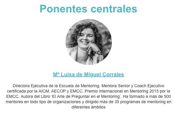 Conferencia Las 7 dimensiones del Rol de Mentor Bilbao Mentoring Conference