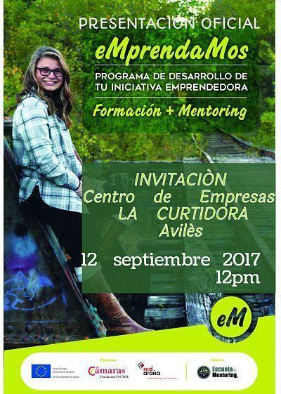 12 Septiembre presentación oficial del Programa Emprendamos Asturias