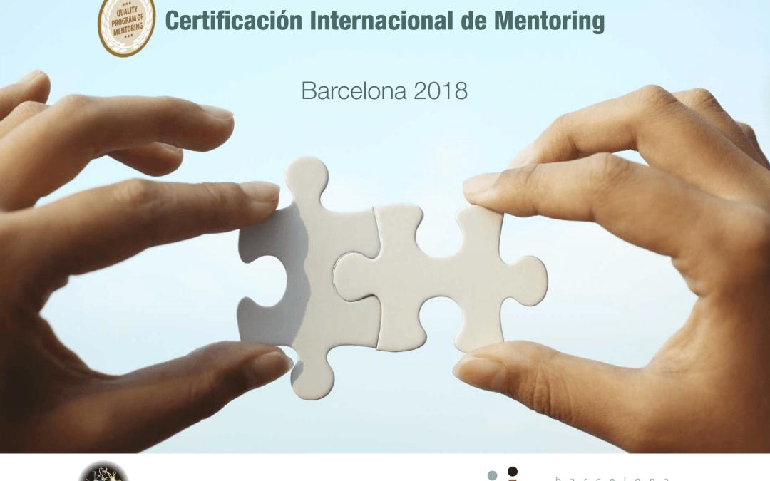 2 Febrero 2018 Iniciamos Certificación Internacional en Mentoring en Barcelona