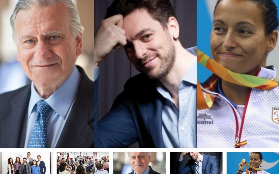 Participo como ponente en los actos de los Premios Fundación Princesa de Girona