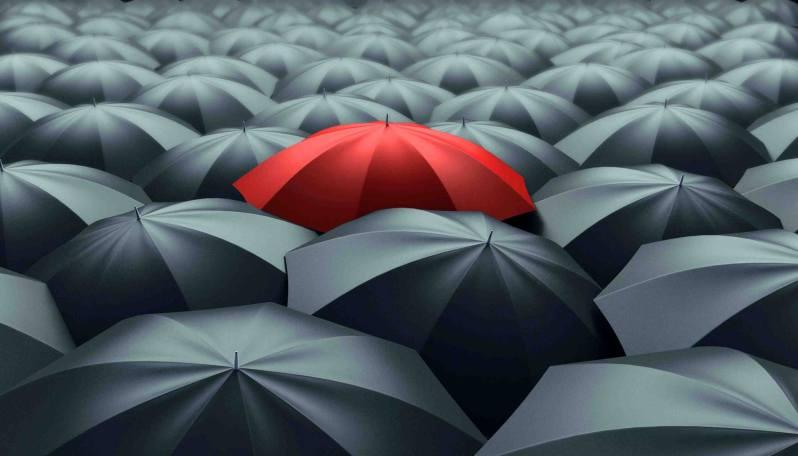 La superstición y los paraguas