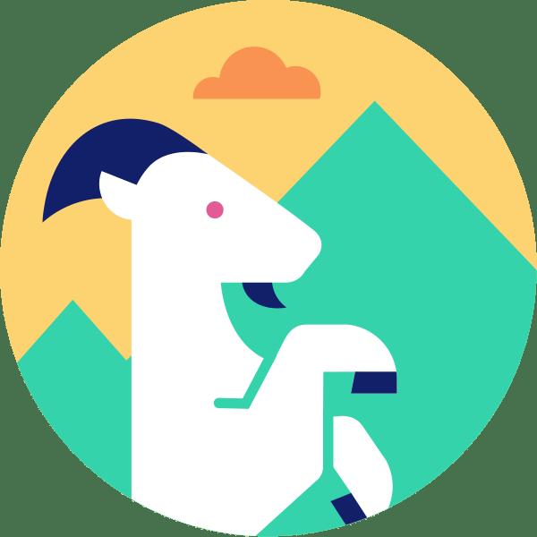 Imágen de un carnero para el símbolo del zodiaco capricornio