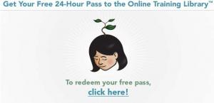 Tutoriales de lynda.com gratis por 24 horas…