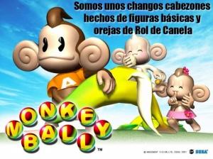 monkeyball cabezones