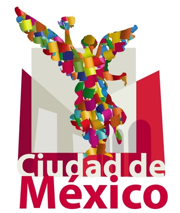 Logotipo 1: Ciudad de México colorida