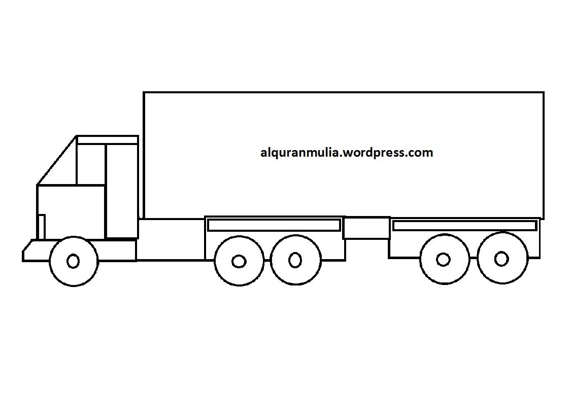 Mewarnai Gambar Mobil Kartun