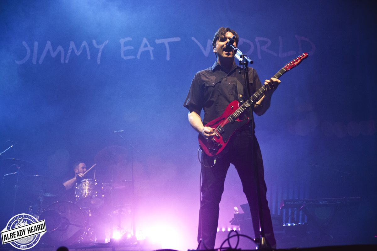 Jimmy Eat World - Alexandra Palace, London - 03/02/2019