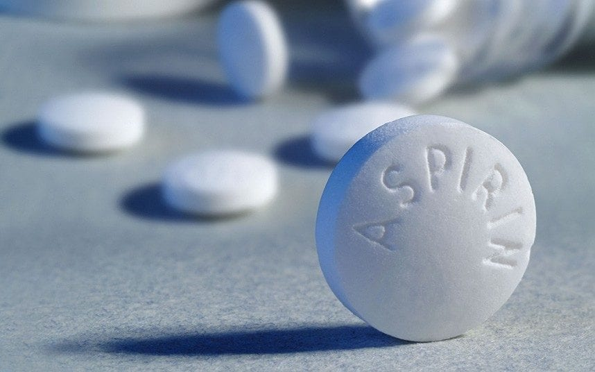 Does Aspirin have a protective role against cardiovascular diseases in healthy elderly?