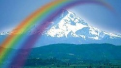 تفسير رؤية قوس قزح في السماء بالمنام