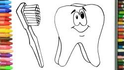 تنظيف جير الأسنان بفرشاة الأسنان في المنام