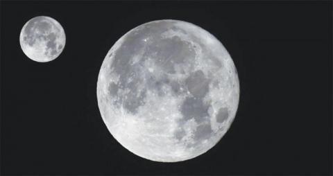 تفسير حلم نزول القمر إلى الأرض في المنام