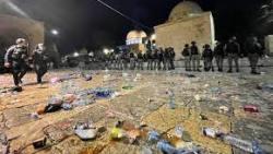 جرائم الاحتلال متواصلة في المسجد الاقصى