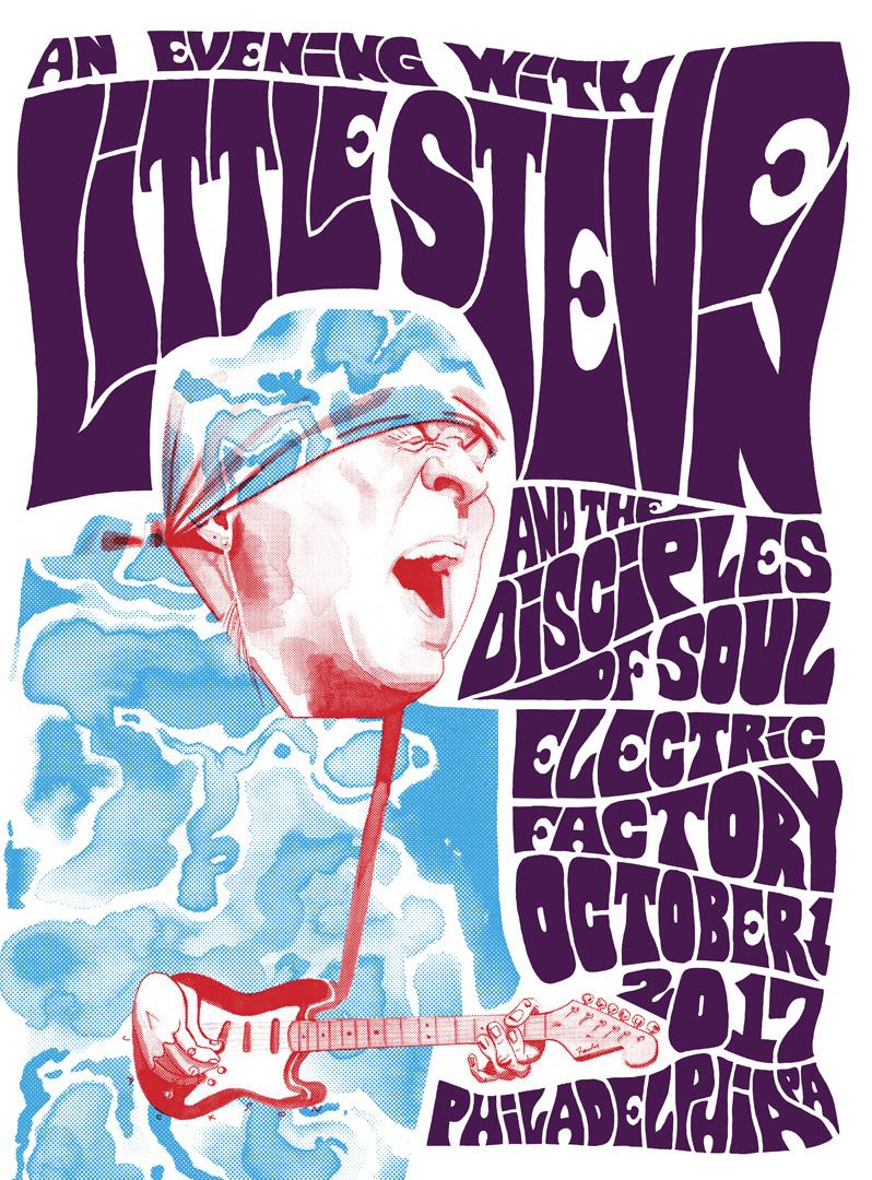 Little Steven Gig Poster