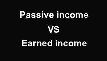 ماهو الفرق بين الدخل المكتسب والدخل الساكن