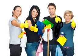 شركة الروناء لتنظيف الشقق بابها