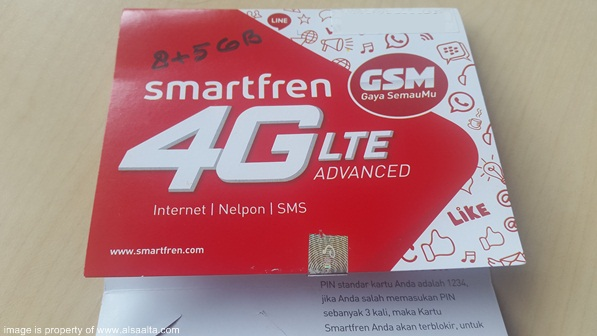 perdana baru smartfren 4g lte advanced gsm picture