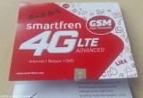perdana baru smartfren 4g lte advanced gsm