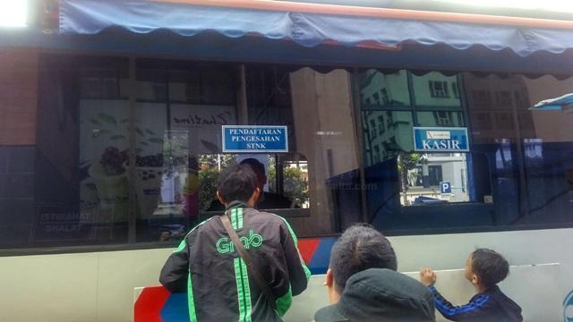 Lokasi Loket Pendaftaran STNK Keliling Ciputra Mall Jakarta Barat