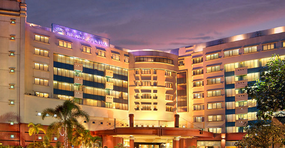 Penampakan Hotel Grand Aquilla dengan kesempurnaannya
