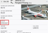 lionair jt610 unknownstatus flightradar