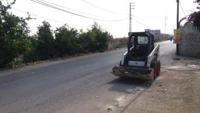 Photo of بلدية السكسكية تتابع تنظيف شوارع البلدة