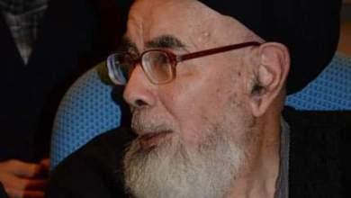 صورة العلامة المحقق السيد عبد الله السيد عبد الحسين شرف الدين في ذمة الله
