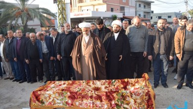 Photo of السكسكية تودع المرحومة الحاجة زهرة مروة