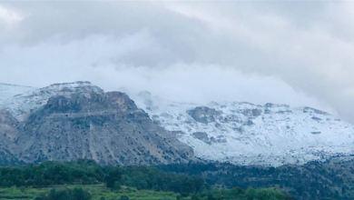 Photo of ثلوج ايار تغطي مرتفعات عكار