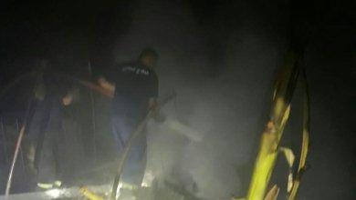 Photo of السكسكية : حريق غرفه لعمال بنغاليين قرب مستشفى الفقيه