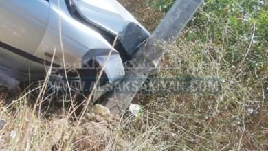 Photo of حادث سير على الطريق البحري لبلدة عدلون