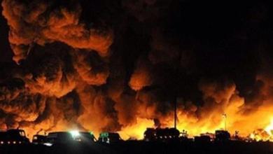 Photo of انفجار ضخم يهز العاصمة الإيرانية