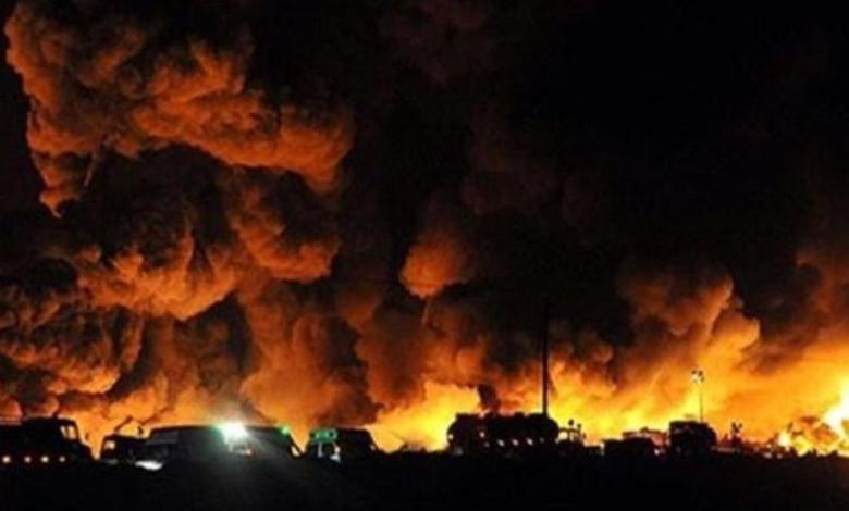 انفجار ضخم يهز العاصمة الإيرانية