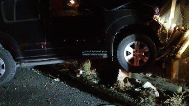 Photo of جريح في حادث سير في مدينة صور