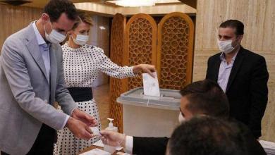 Photo of الرئيس الأسد وعقيلته يدليان بصوتيهما في انتخابات مجلس الشعب