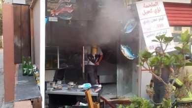 صورة حريق يخرج عن السيطرة في مدينة النبطية