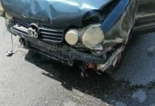 صورة حادث سير في محلة ابو الأسود