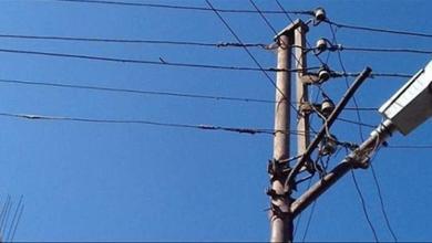 صورة سرقة أسلاك نحاسية لمحوّل كهرباء