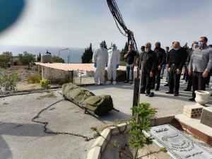 دفن قاسم علوية