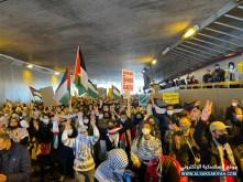 تظاهرة في شوارع جنيڤ - سويسرا دعماً لفلسطين