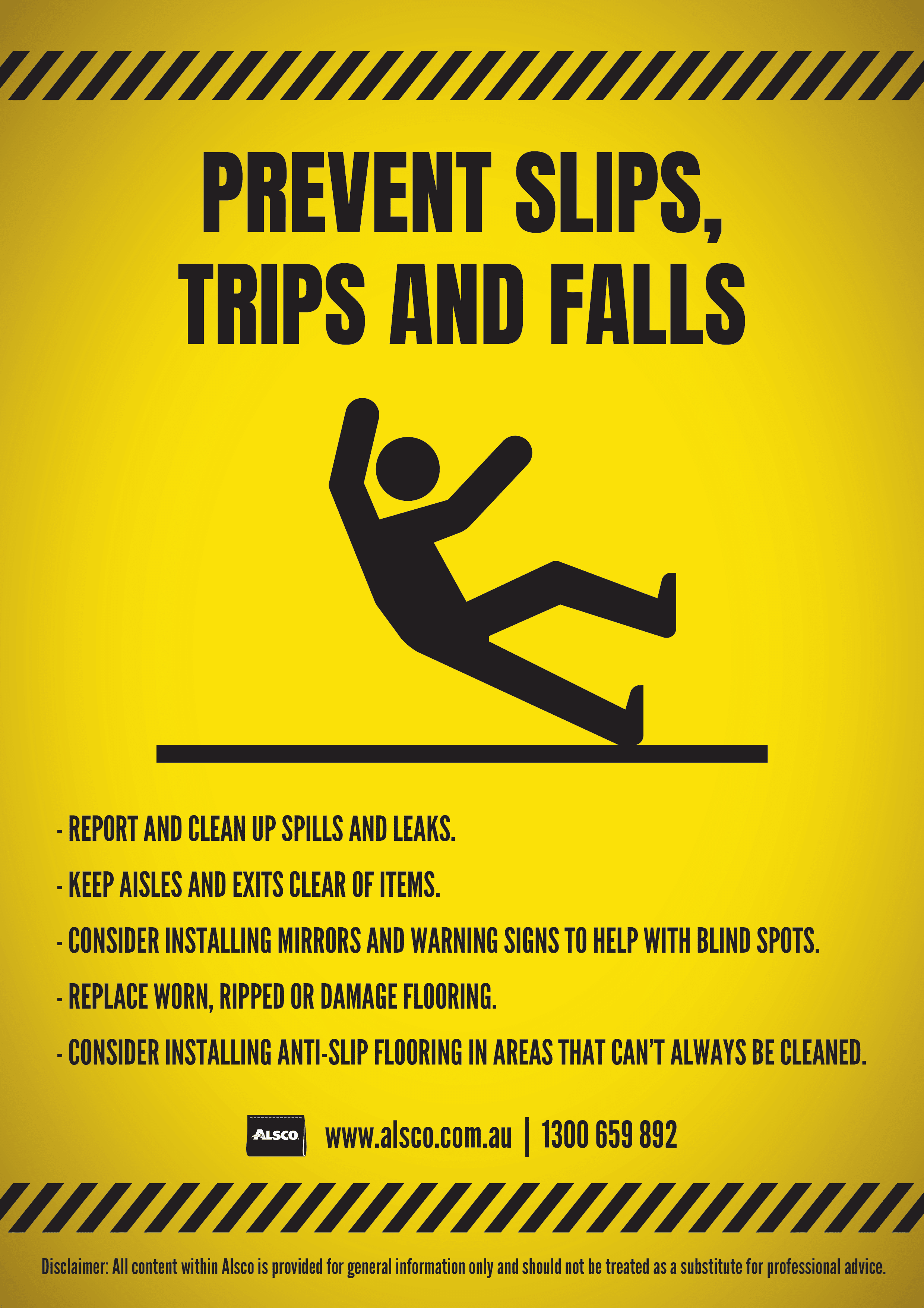 Safety Awareness Posters