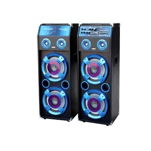 Sanford 2 In 1 Bluetooth Stage Speaker with Mic and LED Display SF2255SS BS