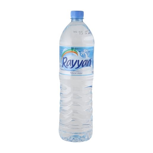 Rayyan Natural Mineral Water 1.5Litre x 6 Pieces