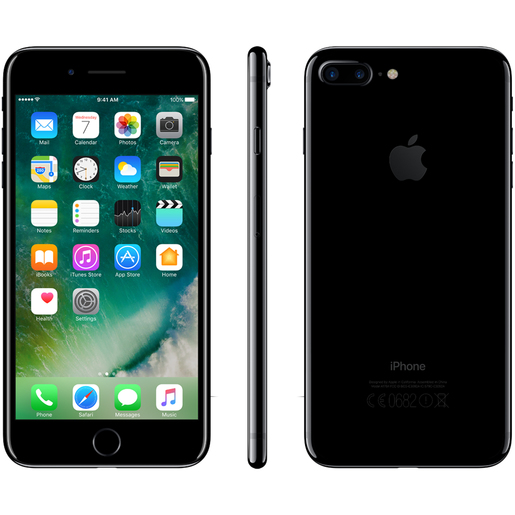 Apple iPhone 7 Plus - 128GB - Jet Black