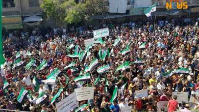 "Photo of ادلب|| مظاهرات واسعة في جمعة ""لا بديل عن إسقاط الأسد"""