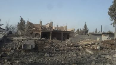 صورة مقتل 6 مدنيين وإصابة آخرين في بلدة الشعفة شرق ديرالزور