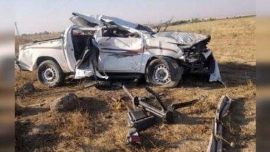 صورة مقتل 5 عناصر من الوحدات الكردية غرب مدينة الحسكة