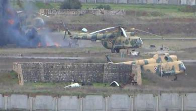 Photo of مقتل ضُبّاط من قوات النظام بانفجار طائرة عسكرية داخل مطار حماة العسكري